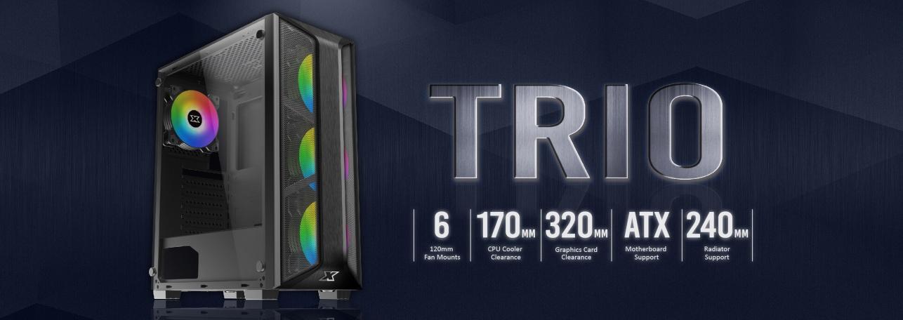 Xigmatek TRIO Gaming Tower Casing - EN45693 7