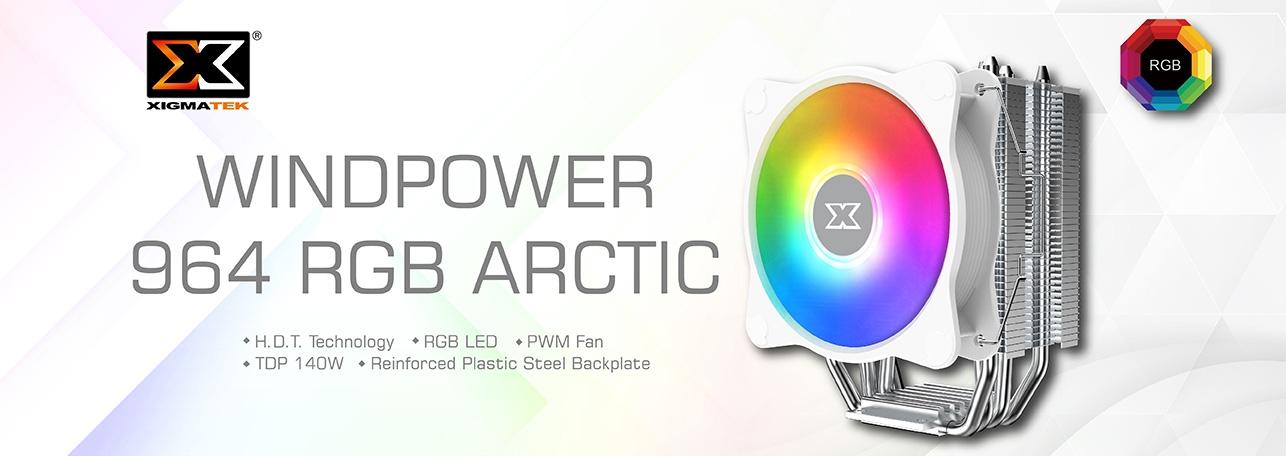 Xigmatek Windpower 964 RGB Arctic Cooler - EN47604 7